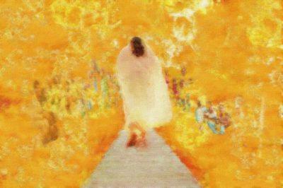 A walk with Jesus - James Martinez
